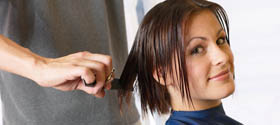 сделать модную стрижку, сделать укладку или вечернюю прическу для торжественного случая , заплести роскошные косы, покрасить волосы профессиональными средствами, сделать маникюр и педикюр в Пскове